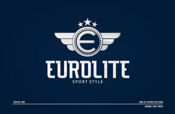 eurolite-sport-font