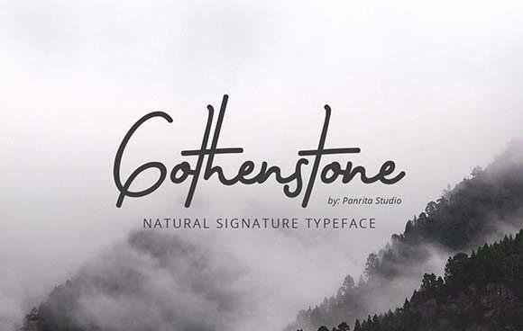 gothenstone-font