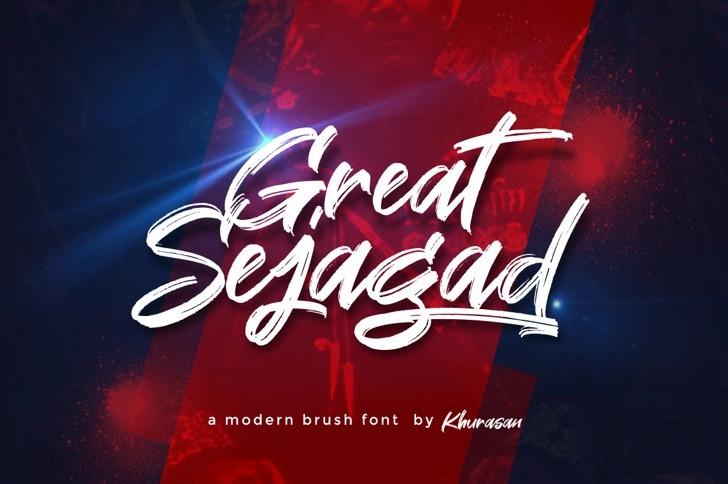great-sejagad-font