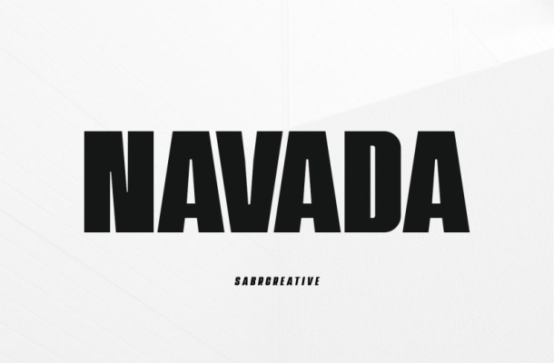 navada-typeface