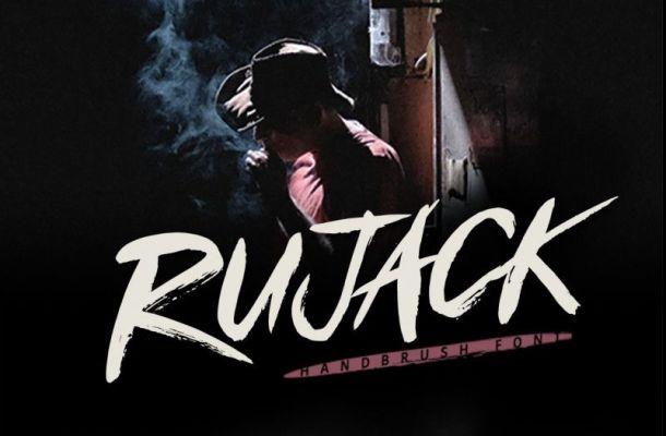 Rujack Brush Font