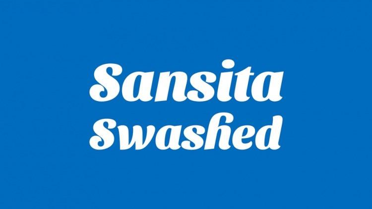 Sansita Swashed Font Family