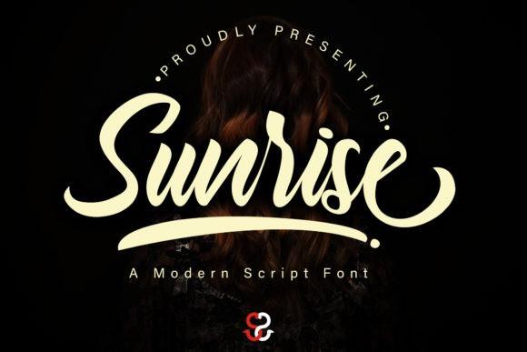 Sunrise Font