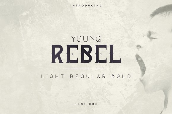 young-rebel-font-duo