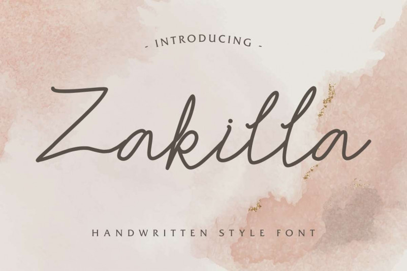 zakilla-font
