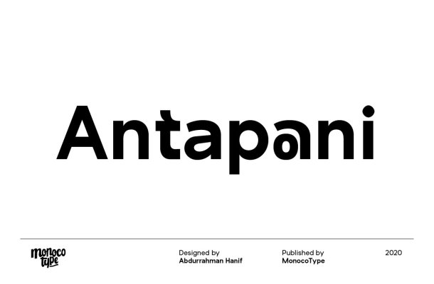 Antapani Sans Font Family