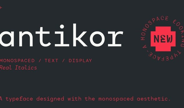 Antikor Sans Font Family