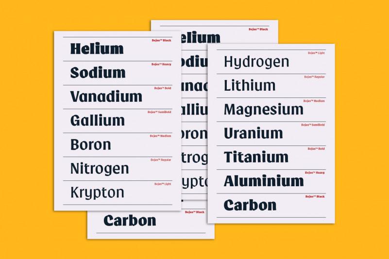 Bojes™ Typeface-2