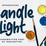 Candle Light Handwritten Font