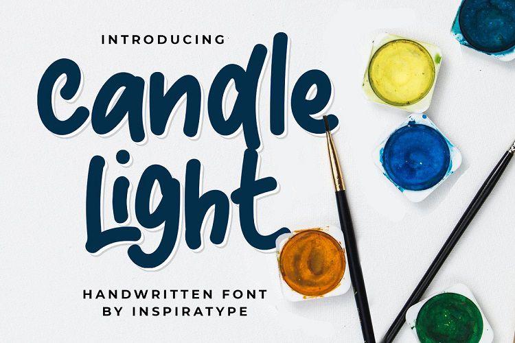 Candle Light - Handwritten Font