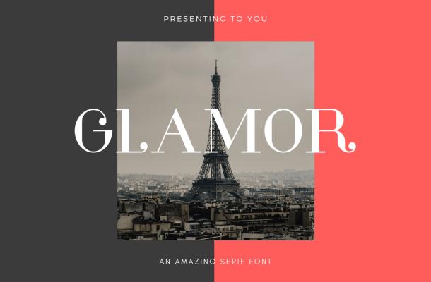 Glamor Serif Font Family