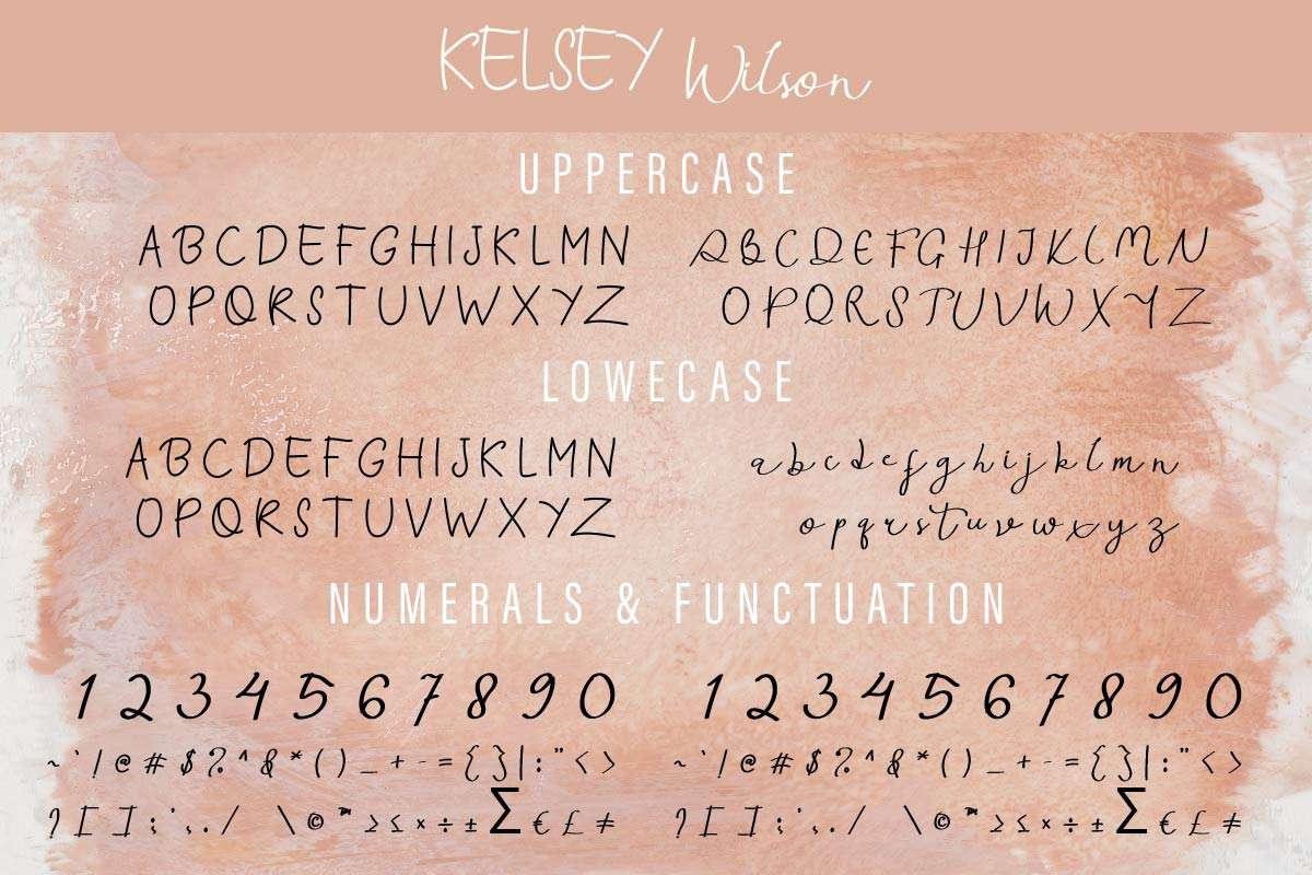 Kelsey Wilson Font Duo-2