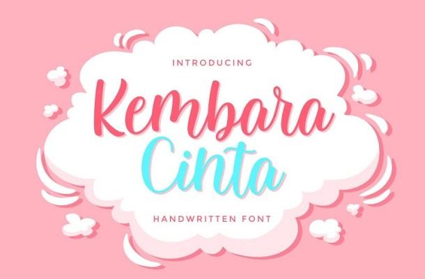 Kembara Cinta Script Font