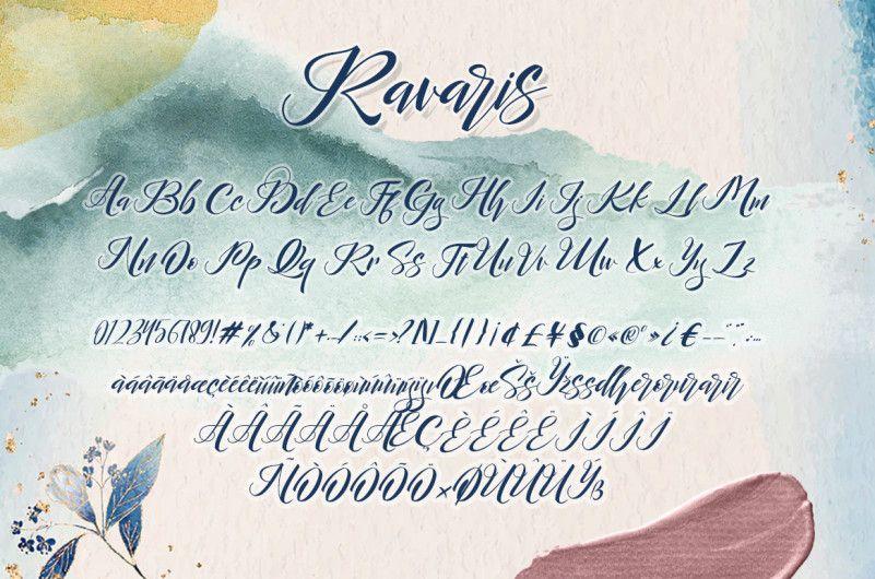 Ravaris Script Font-2