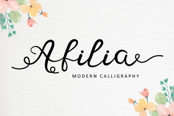 afilia-fonts