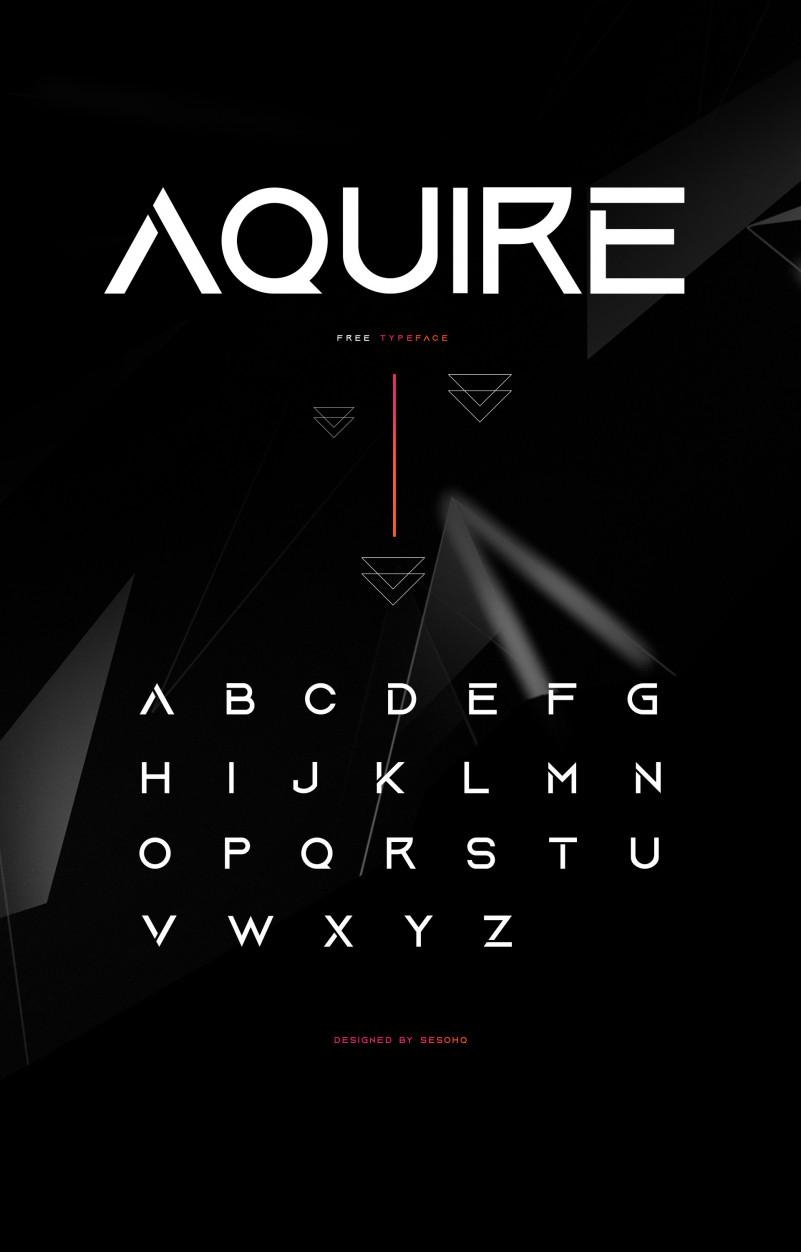 aquire-free-font-2