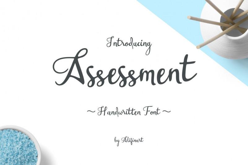 assessment-font