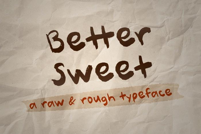 better-sweet-font