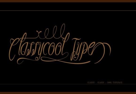 Classycool Calligraphy Font
