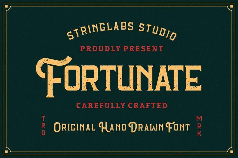 fortunate-font