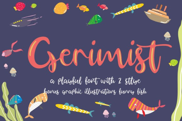 Gerimist Script Font