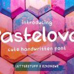 Pastelova Cute Font