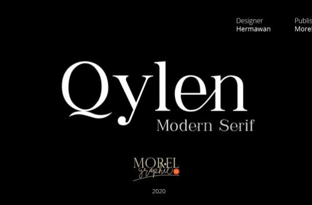 Qylen Modern Serif Font