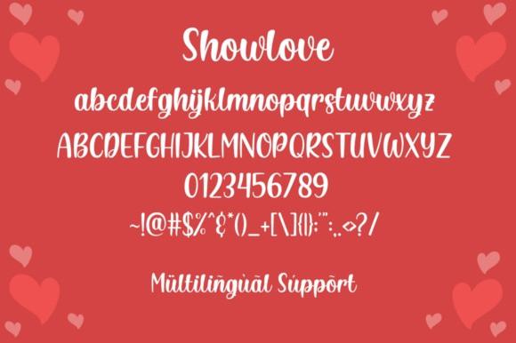 showlove-font-1
