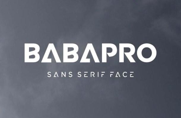 Baba Pro Font-1