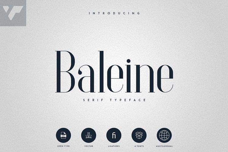 Baleine - Serif Typeface-1