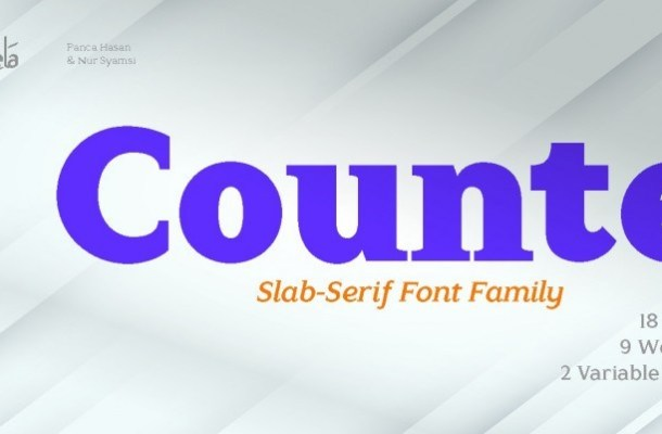 Counte Font-1
