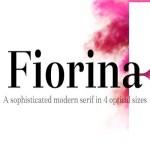Fiorina Serif Font Family