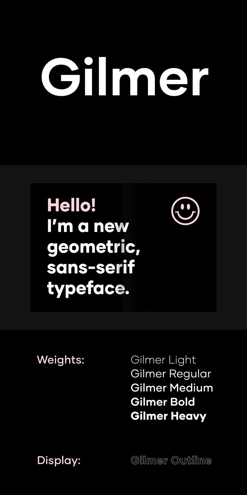 Gilmer Font Family-2