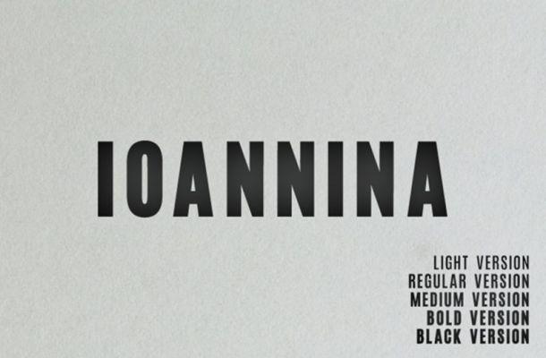 Ioannina Sans Font Family