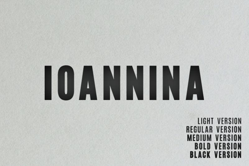 Ioannina Sans Font Family-1