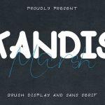 Kandis Marsh Display Script Font