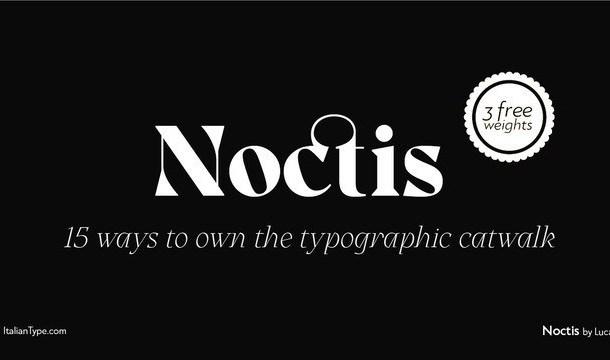 Noctis Serif Font