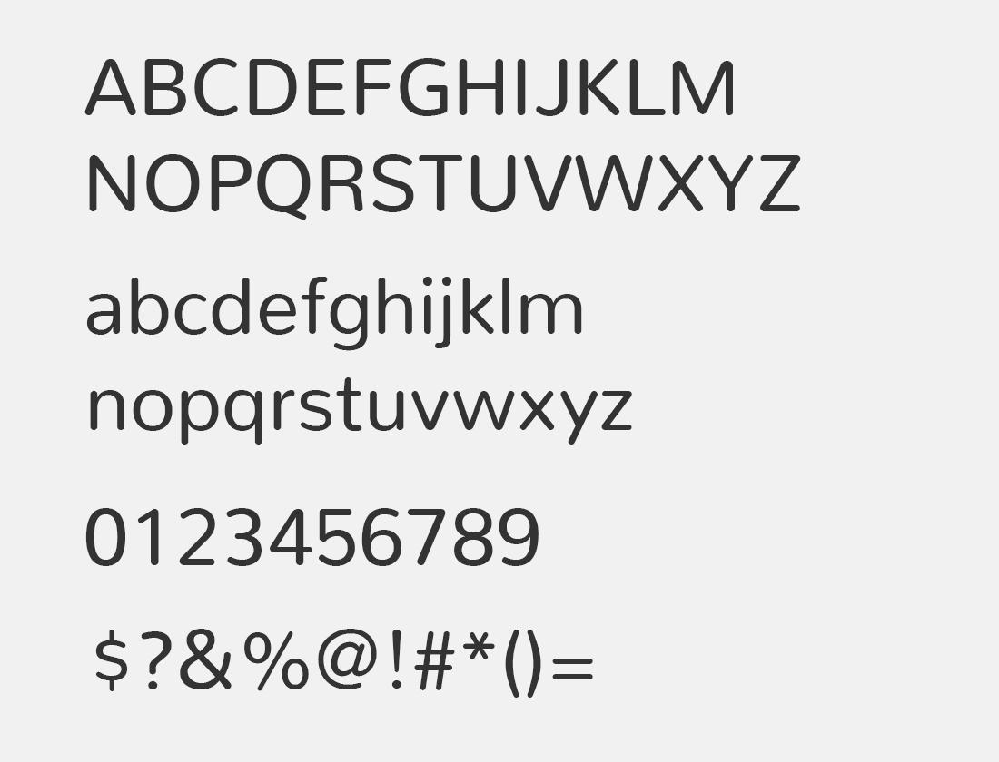 Nunito-Regular font