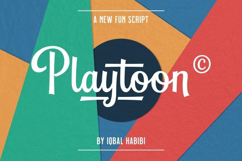 Playtoon Font-1