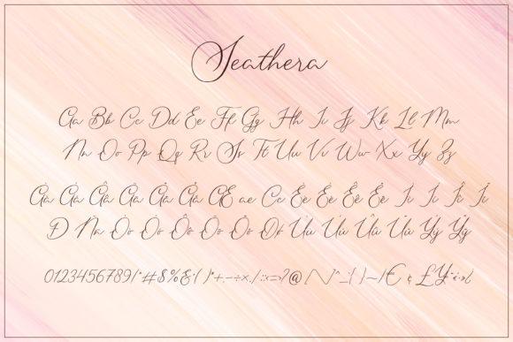 Seathera Signature Script Font-3