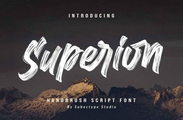 Superion Brush Script Font