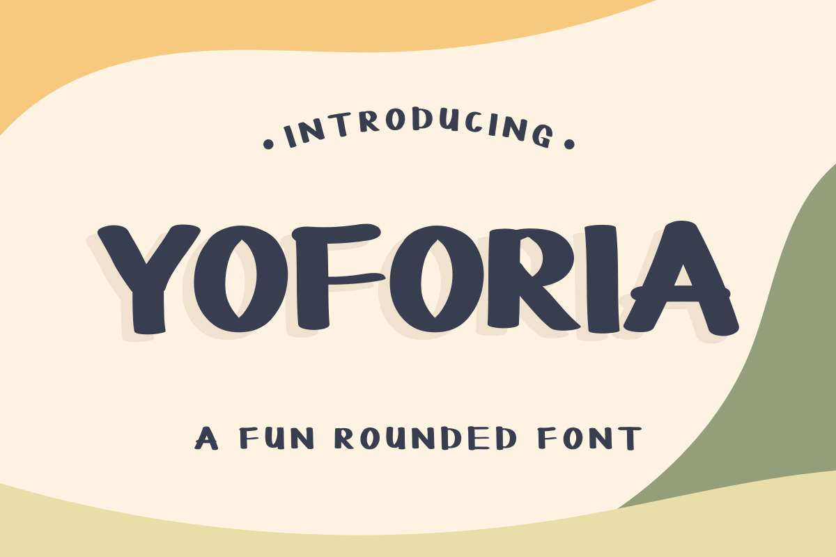 YOFORIA Rounded Font-1