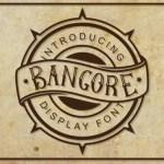 Bangore Blackletter Font