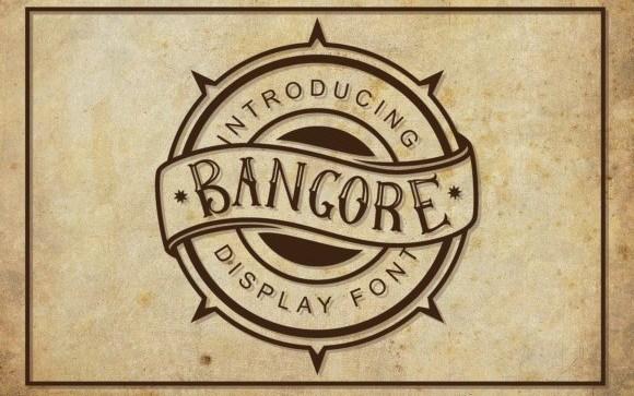 bangore-font-1