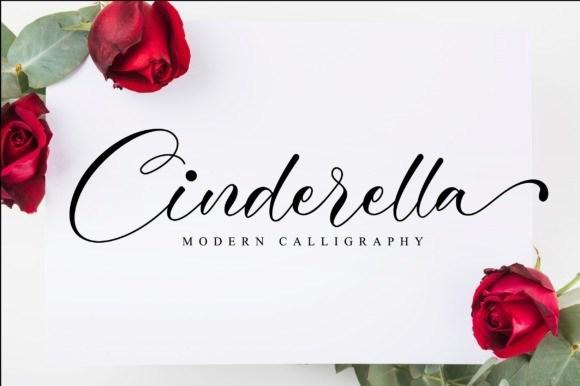 Cinderella Modern Calligraphy Font