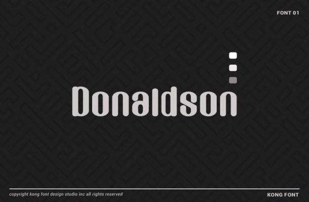 Donaldson Sans Font