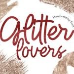 Glitter Lovers Monoline Font