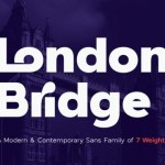 London Bridge Sans Font