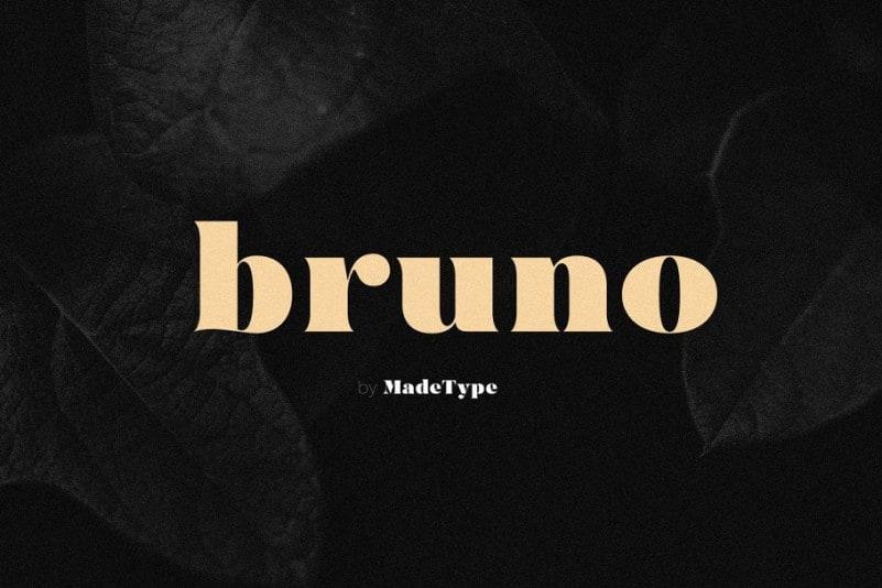 made-bruno-serif-font