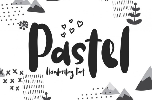 Pastel Handwriting Font